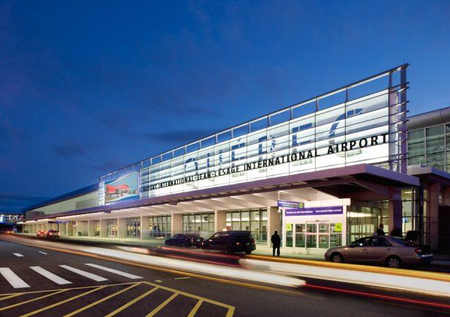 Aérogare Aéroport international Jean-Lesage, Québec