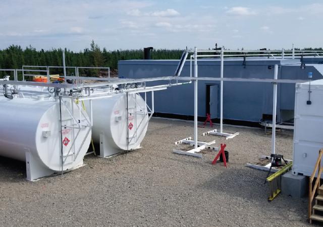 Nouveau parc de réservoirs pour génératrices