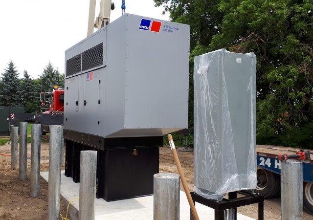 Réaménagement de l'entrée électrique et de la génératrice