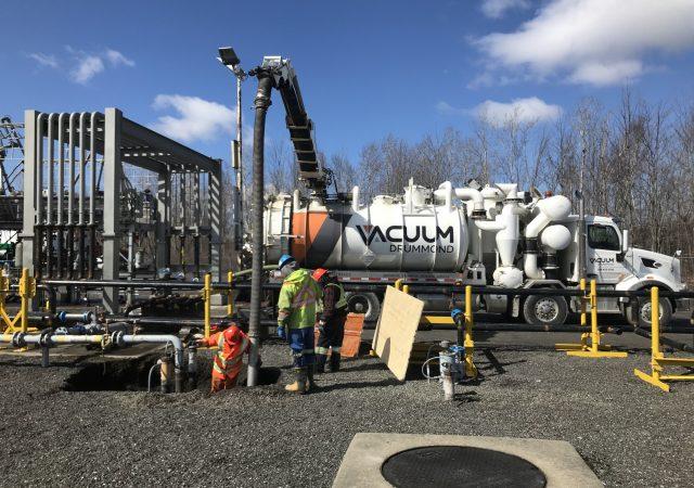 Réfection de la tuyauterie d'un dépôt pétrolier de Drummondville