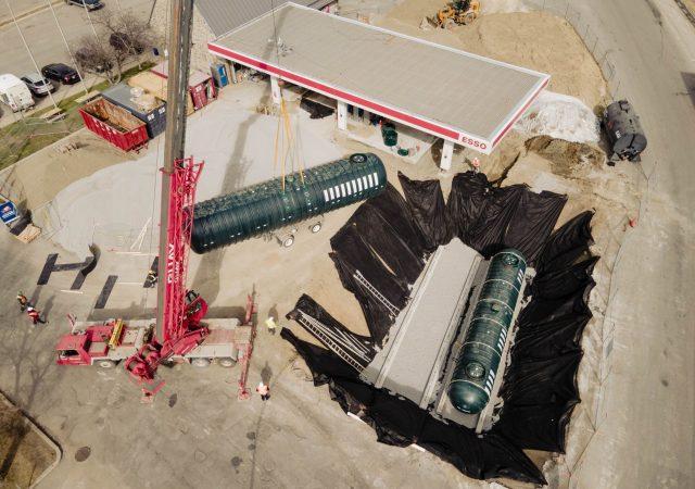Rénovations d'installations pétrolières